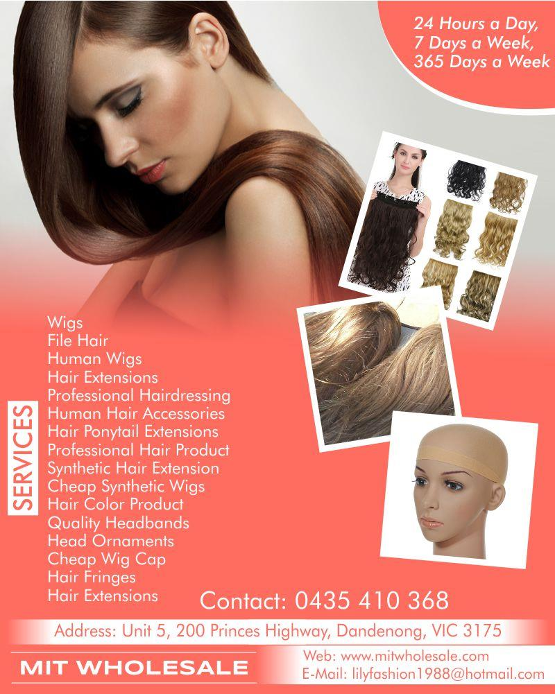 Mit Wholesale Synthetic Hair Extension In Dandenong Vic