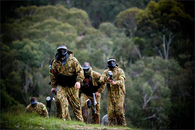 Paintball Sports Kuitpo Forest In Mount Magnificent Sa